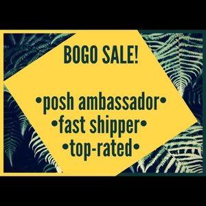 BOGO $ALE!Top brands+25% off 3+item bundles!